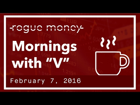 "Mornings with ""V"" & CJ - UK Lib Snubs Trump, Gold, BTC & Bankruptcies Rising  (02/07/2017)"