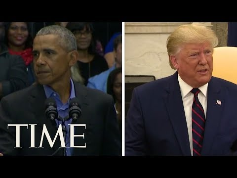 Donald Trump And Barack Obama Tied As Most-Admired Men In America: Poll | TIME