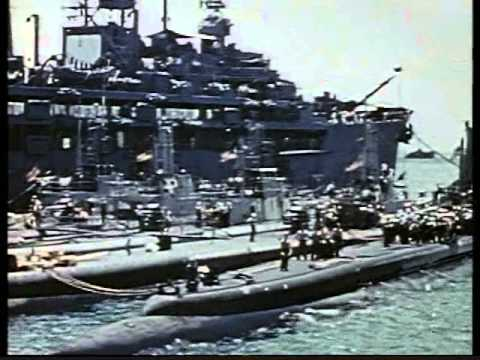 World War II Submarine Warfare - rare footage