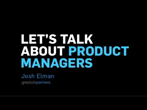 Lets Talk About Product Managers
