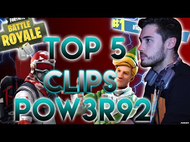 LE MIGLIORI UCCISIONI DI POW3R92 SU FORTNITE | FORTNITE BATTLE ROYALE ITA