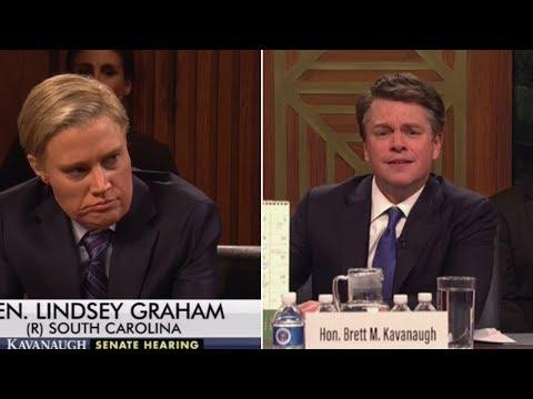 Matt Damon Appears as Brett Kavanaugh in Saturday Night  Premiere