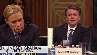 Matt Damon Appears as Brett Kavanaugh in Saturday Night Live Premiere