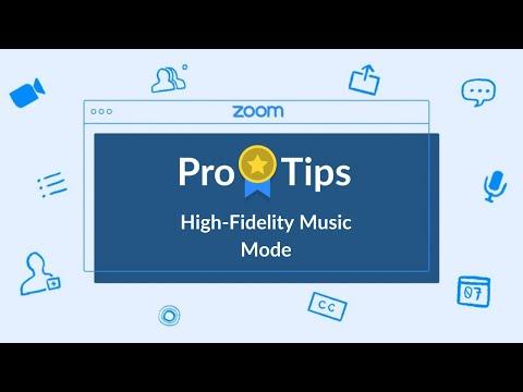 Pro Tip: High-Fidelity Music Mode