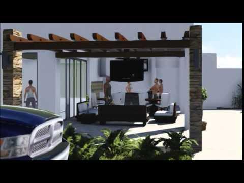 Area de barbacoa zumba room y piscina youtube for Barbacoa y piscina madrid