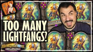 CAN YOU HAVE TOO MANY LIGHTFANGS?! - Hearthstone Battlegrounds