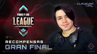 ¡TODAS LAS RECOMPENSAS DE LA FINAL DE LA FREE FIRE LEAGUE! 🔥 | Garena Free Fire