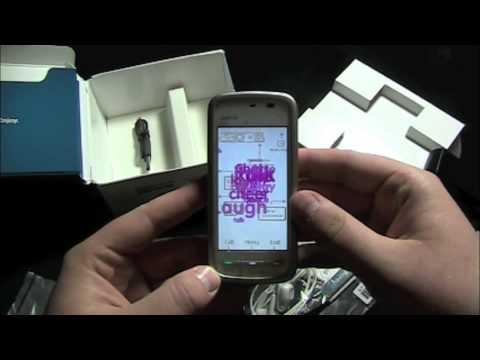Nokia 5230 Nuron (T-Mobile) - Unboxing