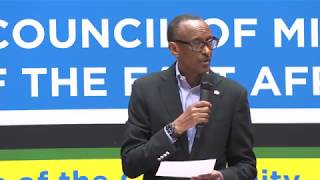Retreat of the Council of Ministers & Heads of Institutions of EAC | Remarks by President Kagame