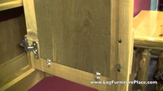Cedar Lake Log Medicine Cabinet From Logfurnitureplace.com