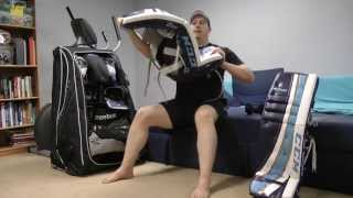 How to Break-in Hockey Goalie Equipment