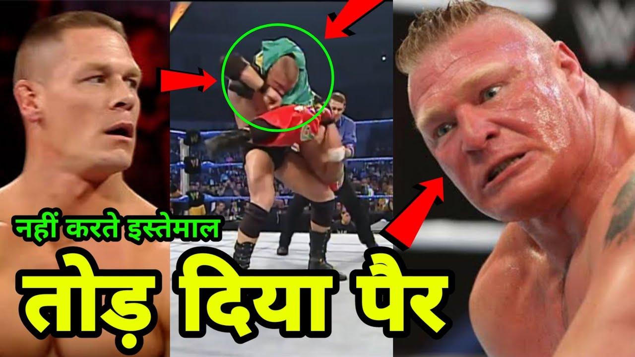 6 Dangerous Moves Brock Lesnar Stopped Using in WWE ! Brock Lesnar Vs Kurt Angle Wrestlemania 19 !