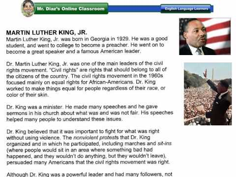 mlk jr worksheet