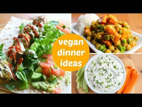 3 Healthy Vegan Dinner Ideas // High-Protein Recipes
