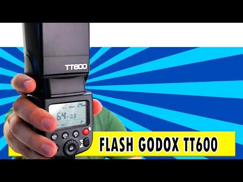 Flash Godox TT600 - Review do flash manual universal