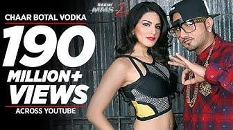 Chaar Botal Vodka Full Song Feat. Yo Yo Honey Singh, Sunny Leone | Ragini MMS 2