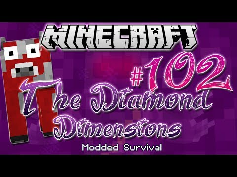 """""""I LOST EVERYTHING?!""""   Diamond Dimensions Modded Survival #102   Minecraft"""