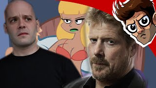 Repeat youtube video Stamper's girl voice slowed down sounds like John DiMaggio - Lyle McDouchebag