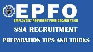 Preparation Tips and Tricks to Crack EPFO SSA Recruitment