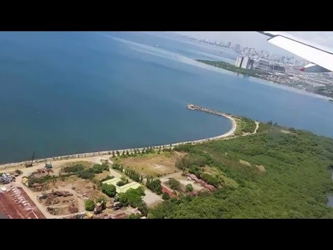 Landing at Manila, Philippines