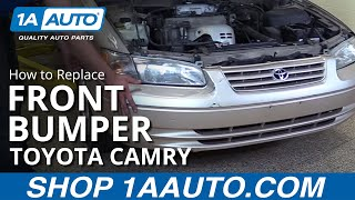 How to Remove Front Bumper on 98 Toyota Camry