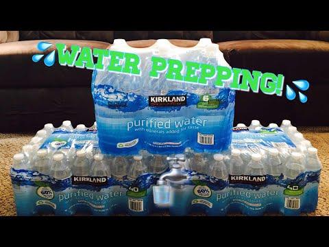 Water Prepping : Emergency Water