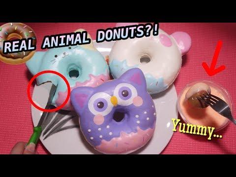 BATAL PUASA? NYOBAIN ANIMAL JUMBO DONUTS!! WAJIB COBA! Kenapa yaa...