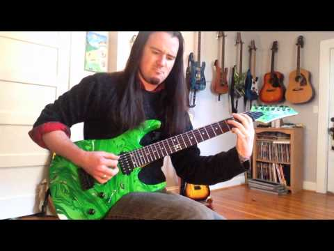 Dimarzio Illuminator 7 - Dream Theater Overture 1928 guitar cover - John Petrucci