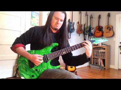 Dimarzio Illuminator 7 - Dream Theater Overture 1928 guitar cover - John Petrucci