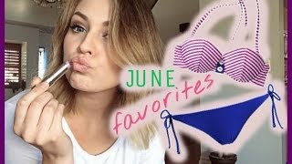 June Favorites! Swimsuits, Makeup, Hair & MORE Thumbnail