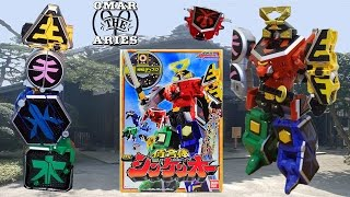 Toy Review: Samurai Gattai DX Shinken-Oh