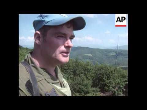 Bosnia - Canadian Peacekeepers Stranded In Fightin