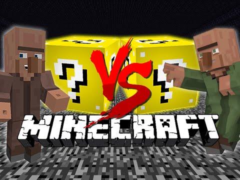 Minecraft: LUCKY BLOCK CHALLENGE | No Villager Trades