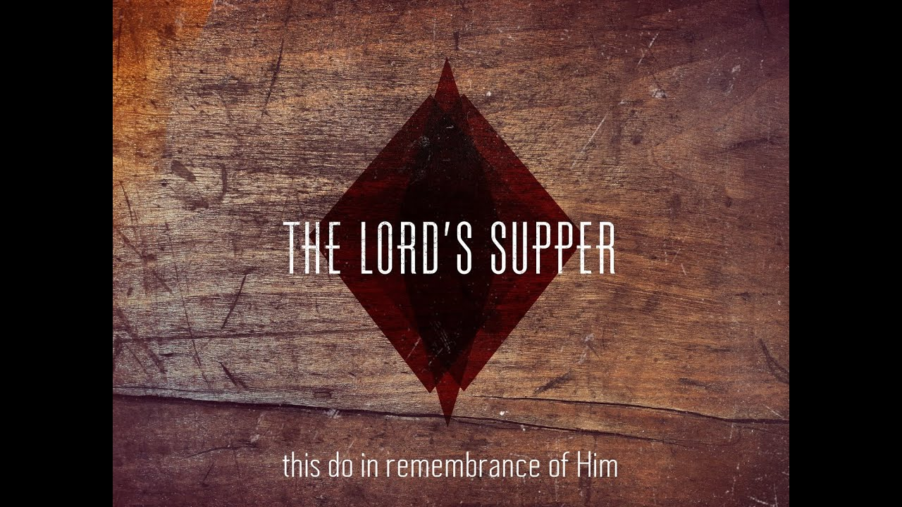 Prepare For The Lord S Supper 11 01 15