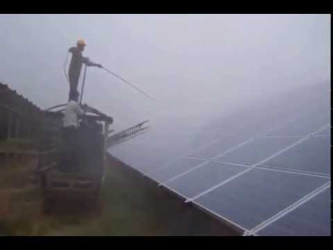 BHARAT SOLAR ENERGY - INDIAN SOLAR COMPANY SUPPLIES SOLAR PANEL CLEANING SYSTEM PAN INDIA,  PUNE