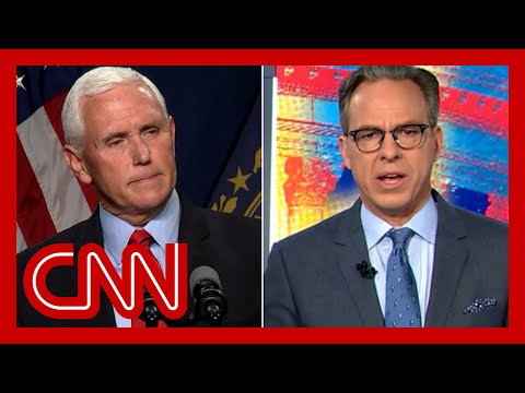 Tapper: Mike Pence is no longer in a rational world