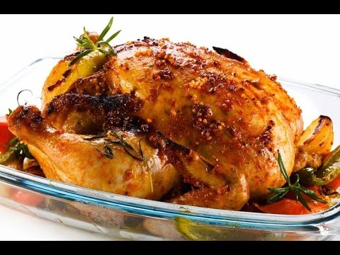 Roasted chicken and vegetables is an excellent low-carb paleo meal.