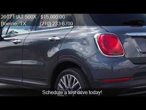 2017 FIAT 500X Lounge 4dr Crossover for sale in Boerne, TX 7