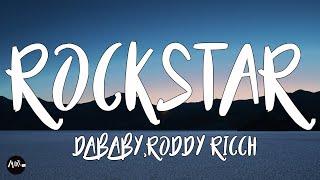 Dababy - Rockstar (Lyrics) Feat. Roddy Ricch