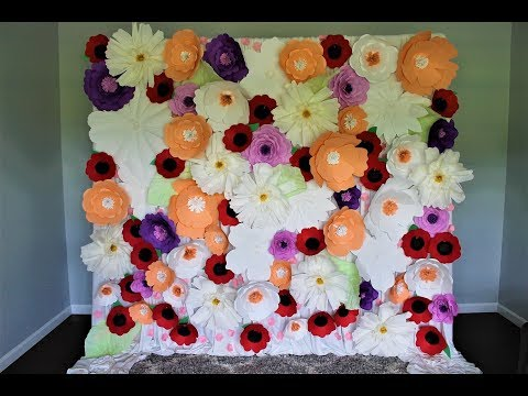 paper-flower-wall-diy-|-how-to-|-using-all-the-paper-flowers-i-own
