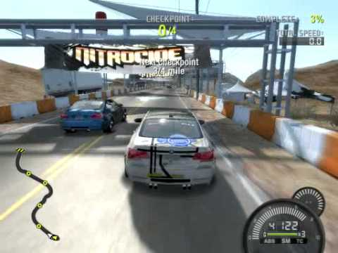 need for speed prostreet pc demo gameplay 8500gt youtube. Black Bedroom Furniture Sets. Home Design Ideas
