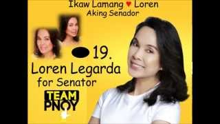 Loren Legarda Jingle Ikaw by Sarah Geronimo