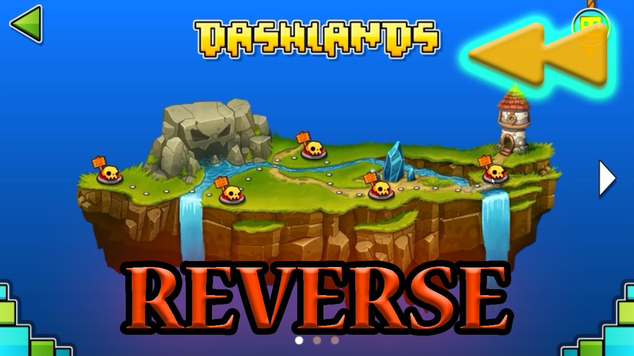 Download REVERSED Geometry Dash World All Levels 1-10 [Reverse]