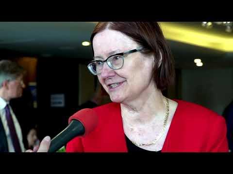 Prof.  dr hab.  Irena Lipowicz podczas XXV Zgromadzenia Ogólnego Związku Powiatów Polskich