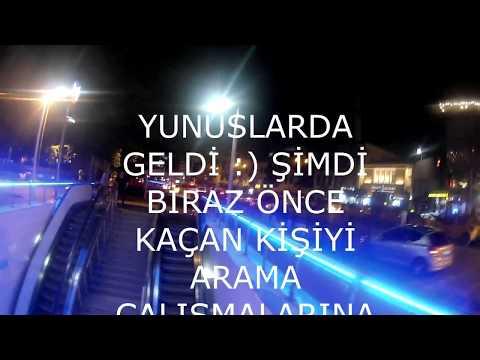 KADİKÖY'DE POLİS KOVALAMACASI , KAVGA