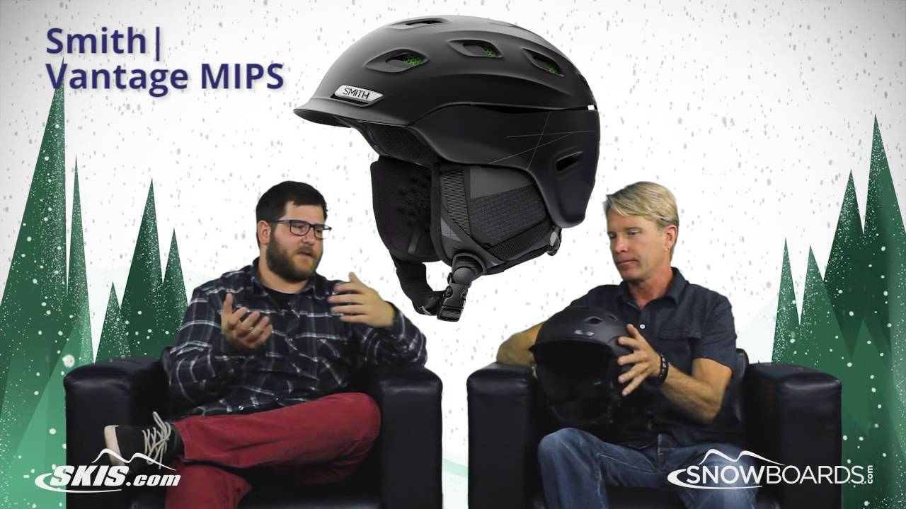 bb282552c3 2019 Smith Vantage MIPS Helmet Overview by SkisDotCom and SnowboardsDotCom  - YouTube