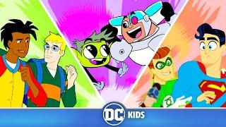 🔴 LIVE! Teen Titans Go! DC Super Hero Girls & Static Shock   Best Friends   DC Kids