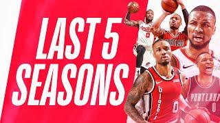 Damian Lillard's Top Plays | Last 5 Seasons