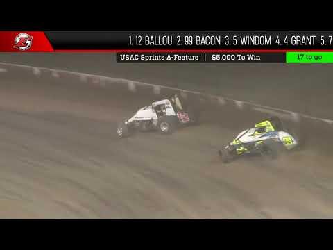 USAC National Sprint Feature Highlights | Eldora Speedway 5.11.18