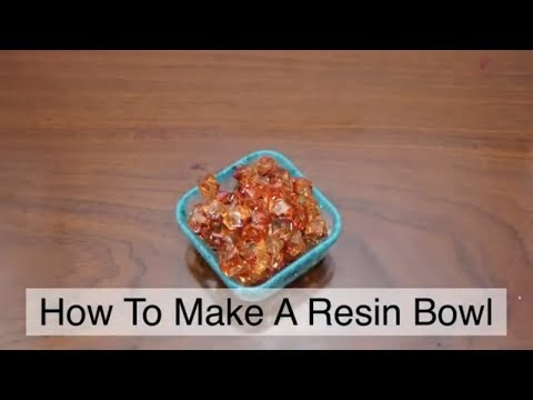 How To Make Resin Square Bowl - Resin Tutorial